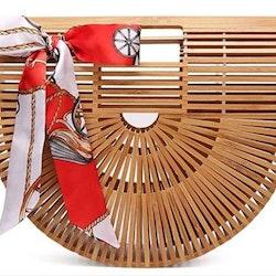Bamboo purse natural