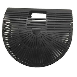 Bamboo purse black
