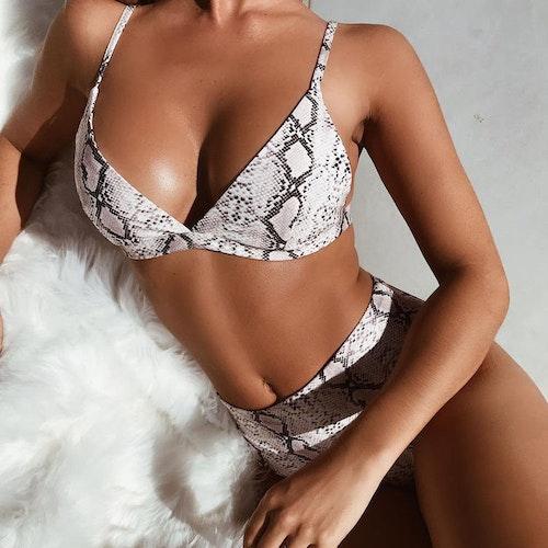 Izabella crocodile bikini set
