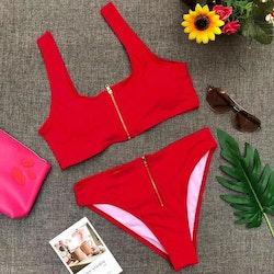 Becca bikini red