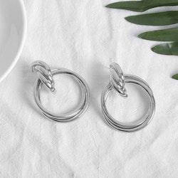 Rebecca earrings silver