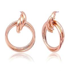 Rebecca earrings rose