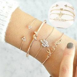 4 pcs love bracelet