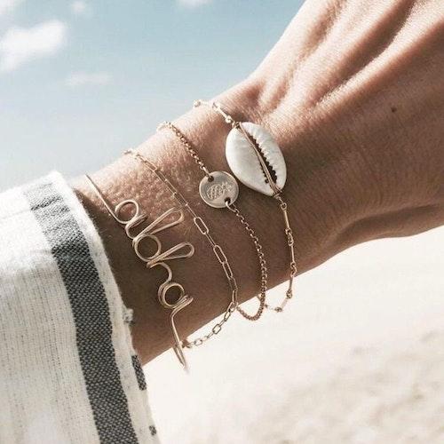 4 pcs Aloha bracelet