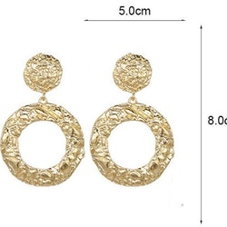 Athena earrings gold