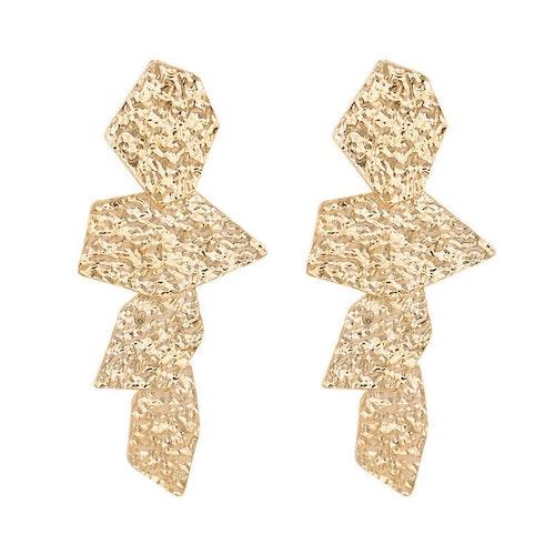 Chika earrings gold