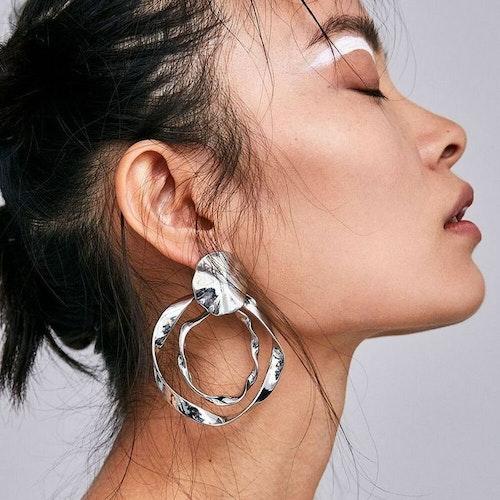 Eleni earrings silver