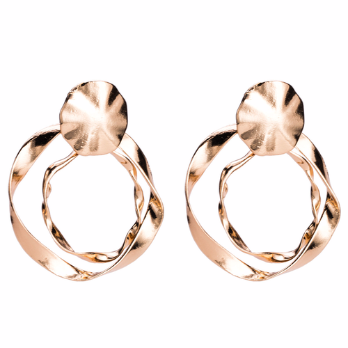 Eleni earrings gold