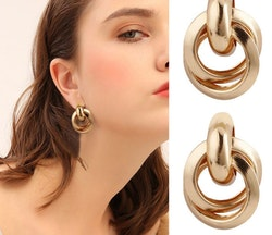 Audrey earrings gold