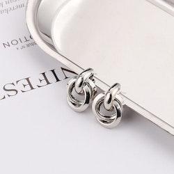 Audrey earrings silver