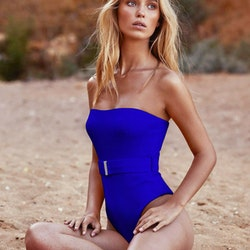 Sophia swimsuit blue