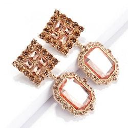 Michelle earrings rose