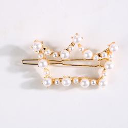 Girls pearl hair clip
