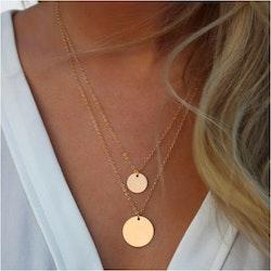 Karma circel necklace