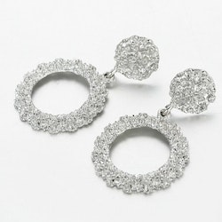 Claudia earrings silver