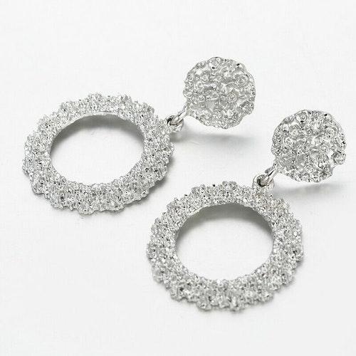 Claudia earrings silver
