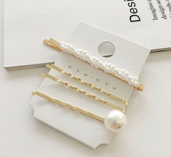 4 pack Pearl Hair Pins