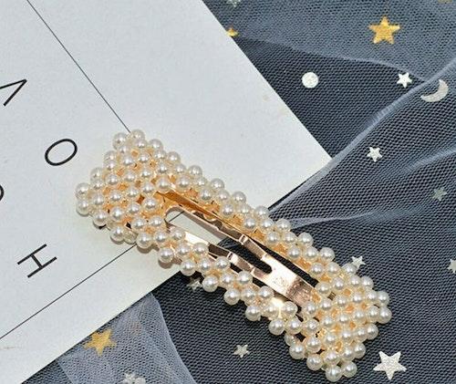 1 pcs pearl hair clip