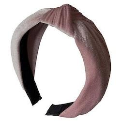 Headband velvet pink