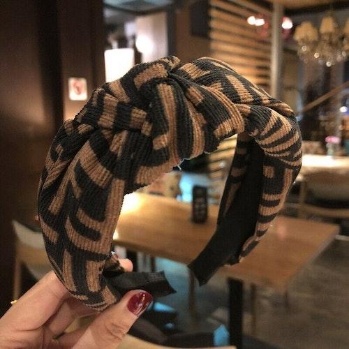 Headband black/brown