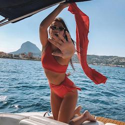 Rebecca bikini red