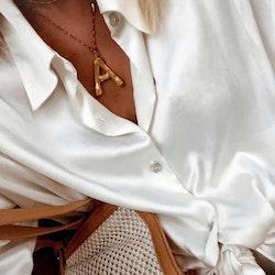 Big letter necklace