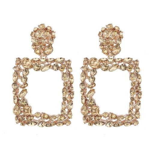 Joelle earrings champagne