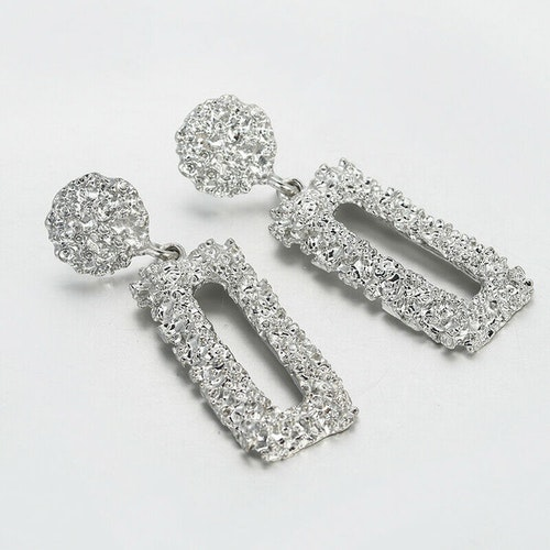 Jenna earrings silver