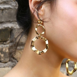 Tiffany earring gold