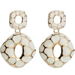 Andrea earrings white
