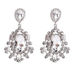 Silvia earrings silver