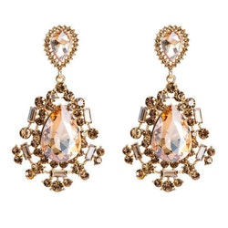 Silvia earrings champagne