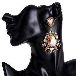 Silvia earrings champagne
