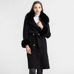 Miranda coat black