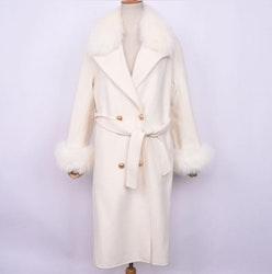 Miranda coat white