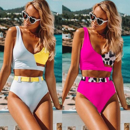 Nicky bikini Pink/leo
