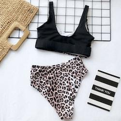 Ellie bikini black/leo