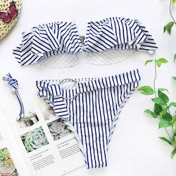 Monaco bikini Blue/white