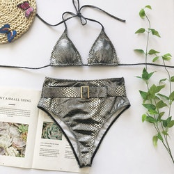 Luna bikini grey