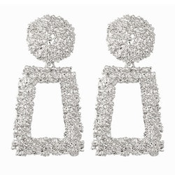 Gina earrings silver