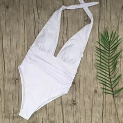Natacha swimsuit white