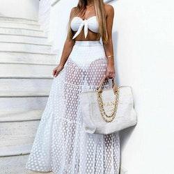 Valencia dot skirt