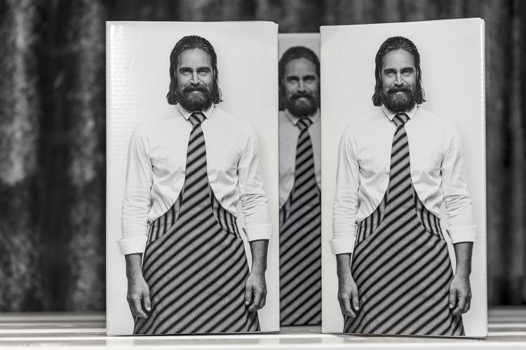 Förkläde med slips Tie&Apron