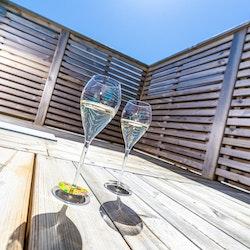 Champagneglas lounge