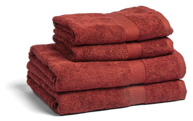 Handdukar 50x70  Fyra nya härliga färger