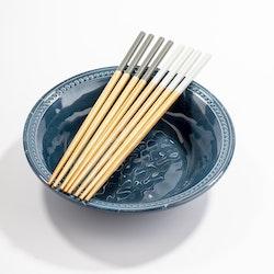 Ätpinnar bambu