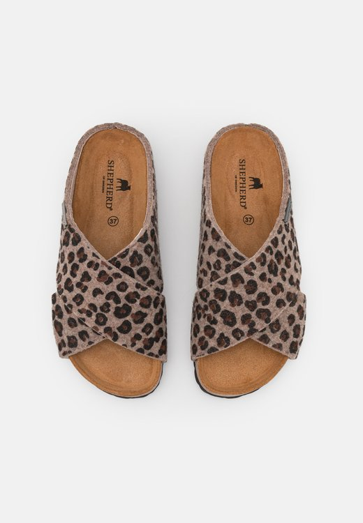 Toffel Carolina Leopard
