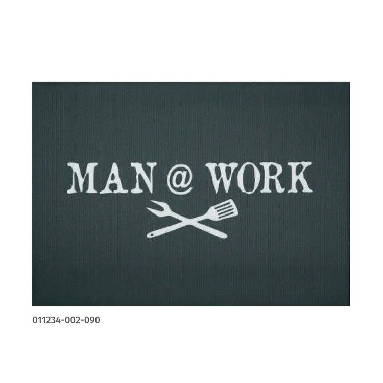 Grillmatta Man @ Work