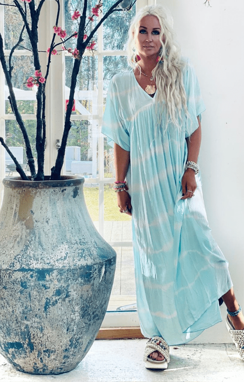 Kira Dress Turquoise