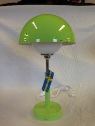 Round Bordslampa Grön